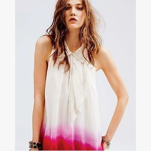 df1e03e7d6551 ... striped halter dress Free People Dip Dye Tunic Tank Black tie front  button up sleeveless blouse ...